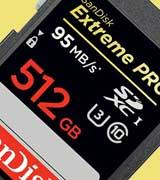 کارت حافظه 512 گیگابایتی